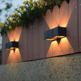 home24 LED-Wandleuchte Outdoor Collection VI