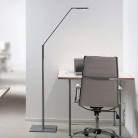 Luctra Floor Linear LED-Stehleuchte aluminium