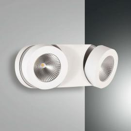 Dimmbare LED-Wandleuchte Hella mit 2 Spots