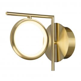 LED-Wandleuchte Olimpia, satin gold