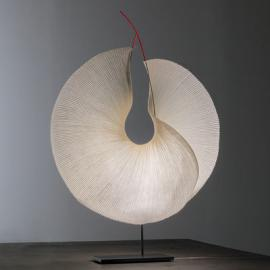 The MaMo Nouchies LED Tischleuchte / Yoruba Rose - Ingo Maurer - Beige,Noir Rouge
