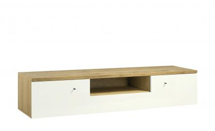 now! by hülsta TV-Lowboard  hülsta now! time ¦ weiß ¦ Maße (cm): B: 140 H: 39 T: 50 Kommoden & Sideboards > Lowboards - Höffner