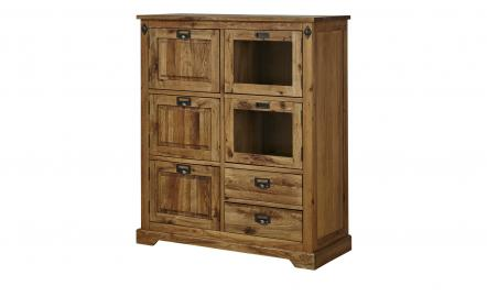 Highboard  Freddy ¦ holzfarben ¦ Maße (cm): B: 120 H: 140 T: 50 Kommoden & Sideboards > Highboards - Höffner