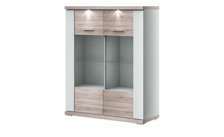 uno Highboard   Titan ¦ Maße (cm): B: 106 H: 131 T: 42 Kommoden & Sideboards > Highboards - Höffner