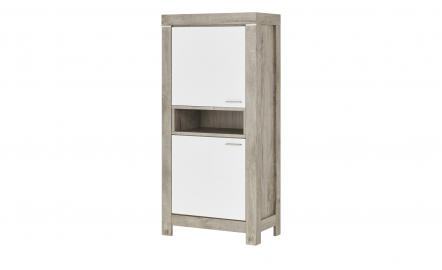 uno Highboard  Porto ¦ holzfarben ¦ Maße (cm): B: 77 H: 160 T: 43 Kommoden & Sideboards > Highboards - Höffner