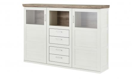 uno Highboard  Bana ¦ Maße (cm): B: 186 H: 129 T: 43 Kommoden & Sideboards > Highboards - Höffner