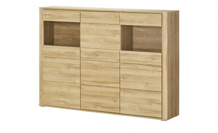 uno Highboard  Lasal ¦ holzfarben ¦ Maße (cm): B: 179 H: 130 T: 38 Kommoden & Sideboards > Highboards - Höffner