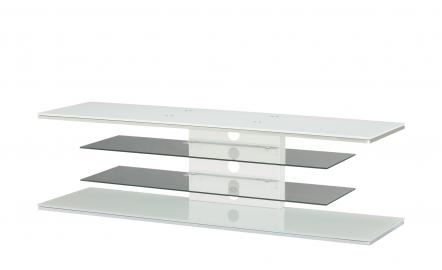 TV-Rack  Moringen ¦ weiß ¦ Maße (cm): B: 140 H: 41 T: 45 TV- & Media Möbel > TV-Racks - Höffner