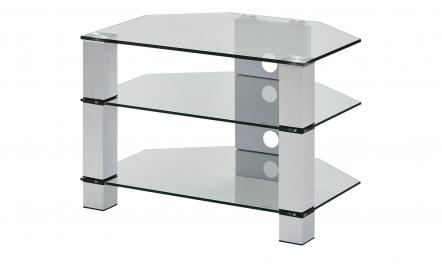 TV-Rack  Merseburg I ¦ transparent/klar ¦ Maße (cm): B: 70 H: 50 T: 50 TV- & Media Möbel > TV-Racks - Höffner