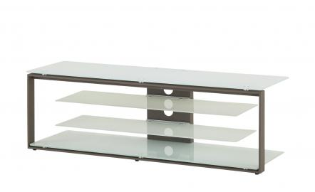 TV-Rack  Malchow ¦ weiß ¦ Maße (cm): B: 130 H: 42 T: 40 TV- & Media Möbel > TV-Racks - Höffner