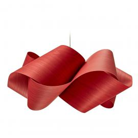 LZF Lamps Swirl Large Pendelleuchte, rot