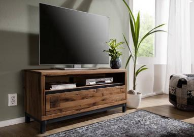 TV-Board Wildeiche 120x40x56 Tabacco brown geölt VILLANDERS #312