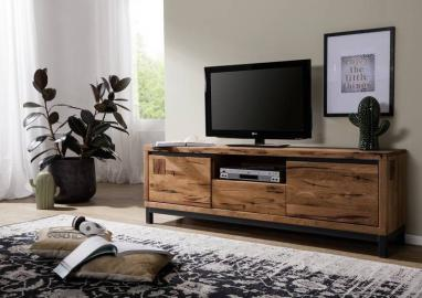 TV-Board Wildeiche 170x40x56 Tabacco brown geölt VILLANDERS #313