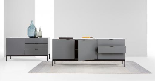 Marcell Sideboard, Grau - MADE.com