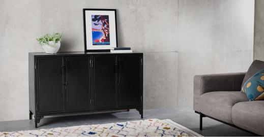 Rankin Sideboard, Schwarz - MADE.com