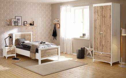 Home affaire Schlafzimmer-Set Kjell (Set 3-tlg)