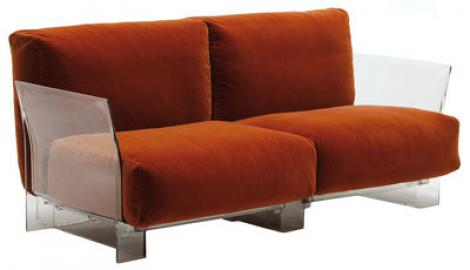 Pop Outdoor Sofa 2-Sitzer - Kartell - Orange