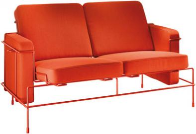 Traffic Sofa / L 134 cm - 2-Sitzer - Magis - Orange